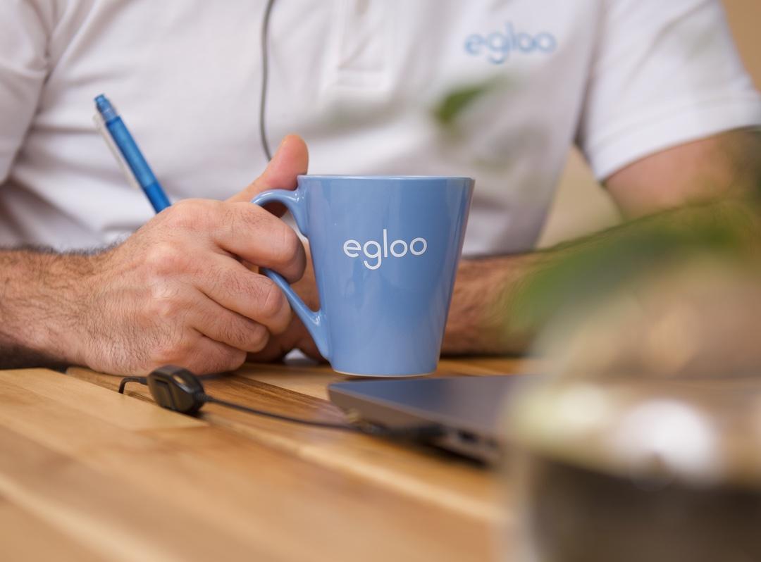 Egloo kaffemugg